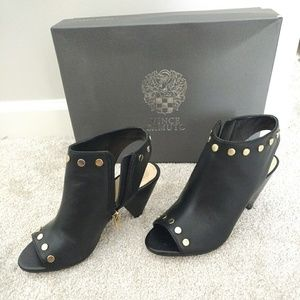 Vince Camuto Peep Toe Ankle Boot